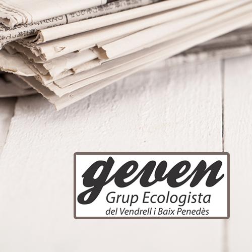 Geven, Grup Ecologista del Vendrell i Baix Penedès, medi ambient, ecologistes, ecologisme, les madrigueres, corriol camanegre, natura, medi ambient, animals, platja, espais naturals, baix penedès, AIGUAMOLLS