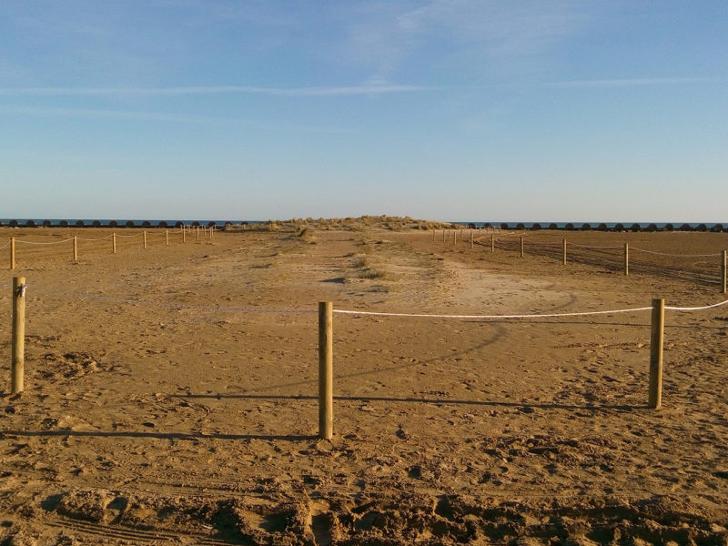 Ampliació de l'abalisament de la platja de Llevant de Cunit